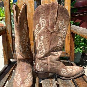 Corral Honey Cortez Cowboy Boots R1974 Size US8